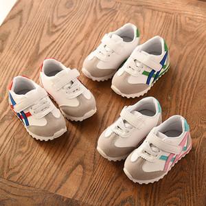 New Baby fundo macio Crianças de passeio da menina Moda da criança das meninas do esporte Casual Shoes Crianças Meninos Criança Tide Sapatos