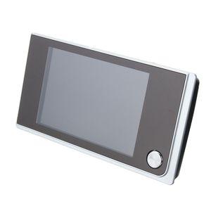 3.5 polegadas Digital 120 ° Porta Peephole Peep Buraco Vídeo Doorbell Visualizador monitor Camera