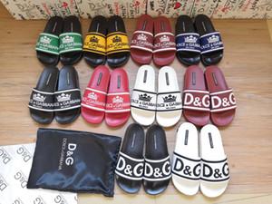 2020 popular em PVC barato senhora sandália das mulheres de marca plana sandália luxurys alta qualidade designers de senhoras deslize sandália 35-41 transporte gratuito