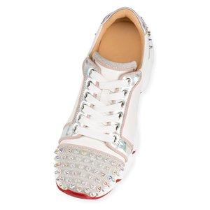 New Arrival Krystal Spike Sock Donna Sneakers Designer Mens Red Bottoms Shoes Womens Rivet luxury Flat Shoes