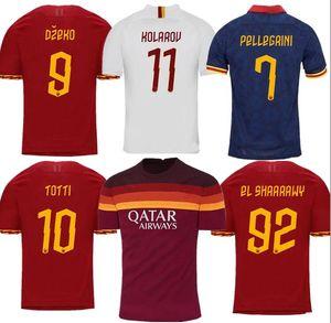 Thai DZEKO PEROTTI PASTORE ZANIOLO soccer jersey rome 2019 2020 TOTTI jerseys 19 20 21 football kit shirt DE ROSSI as maillot de foot roma
