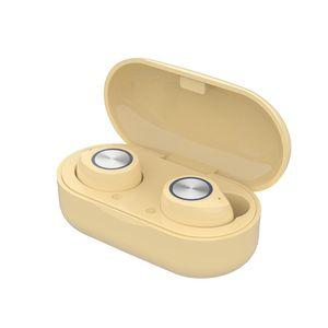 TW60 inalámbrica Bluetooth para auriculares TWS Headset 5.0 Touch Control Bajo envolvente de alta fidelidad auriculares estéreo con carga de caja para el teléfono elegante