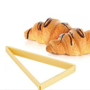 Dessert Maker Cutters Bread Line Mould Plastic Kitchen Gadgets Croissant Roll Stamper Baking