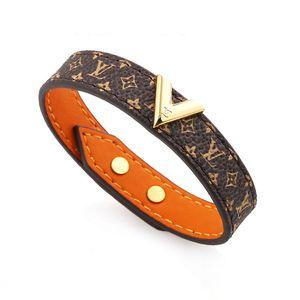 PU-Titan Stahl Material neutral dekorative Armband Luxus-Designer-Schmuck Frauen Armbänder lieber Armband Armbänder für Männer