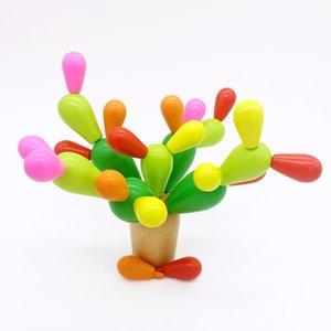 Creativo Mosaico Giocattolo Regali Bambini Fichi d'India Cactus Blocchi di legno Bambini Bambini Mosaico Educativo Assemblare Giocattoli Demolizione