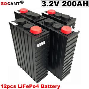 12pcs / lot rechargeable au lithium LiFePo4 batterie 36V 200Ah 12S batterie vélo électrique 36V pour le stockage d'énergie / puissance du système solaire