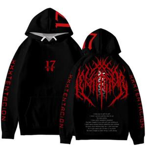 Black Hoodies 19ss New Spring Oversize Revenge LOVE Pullovers Sweatshirts American Rapper xxxtentacion
