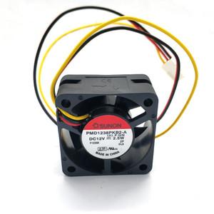 New Original for AVC C4020B12M PMD1238PKB2-A 38*38*20MM DC12V Tachometer Signal dual ball bearing cooling fan