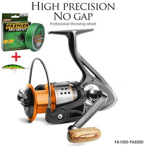 Fishing Wheel 13bb + كرات 1 بذور جميع المعادن عجلة 8 كيلوجرام ماكس السحب الغزل بكرة عالية السرعة عجلة معدات الصيد