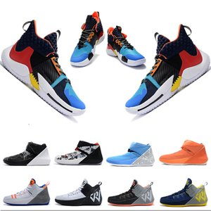 2020 New Hot Russell Westbrook 2 Mens Basketball Shoes Designer Sports Running Shoes Luxury Sneakers Outdoor Breathable Trainers Size 7-12