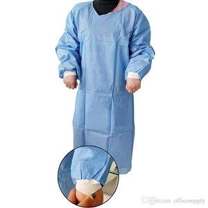 Aislamiento desechable ropa matorrales vestido a prueba de polvo uniforme Traje Trajes de protección Ropa de Trabajo