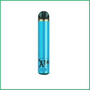 Puff Xtra Glow Tek Cihaz 1500puffs Pod 280mAh Vape Kalem 10 Renk Olan Tek E Sigaralar Güvenlik Kodu LED Işık ile boşaltın