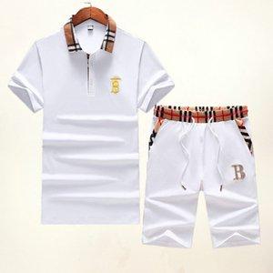 Erkek Tasarımcı Tracksuits Marka Erkek T gömlek + Şort Seti Yaz Kısa Kollu Eşofman Spor Salonları Casual Tişörtlü 2 Adet Marka Giyim Boyut M-3XL