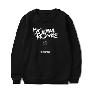 My Chemical Romance Hoodies Herren / Damen Schwarz Parade Punk Emo Rock Hoodie Sweatshirt Herbst Winter Jacke Mantel Übergröße Kleidung