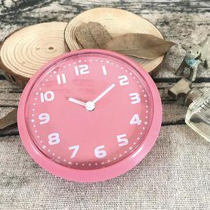 Fashion Kitchen Magnetic Clocks Fridge Magnet Small Wall Clocks Round In Simple Quartz Product Size 80X80MM