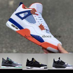 HOT Singles Day 4 tênis de basquete designer de sapatos de esportes de goma dos homens Tatuagem Ginásio 4s correndo Athletic sneakers Vermelho Chicago Midnight luxo Da Marinha