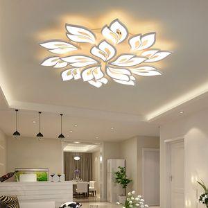 Nouvelle arrivée Iralan LED Lustre moderne Fleurs For Living soutien télécommande Chambre Chambre Maison insta d'éclairage design