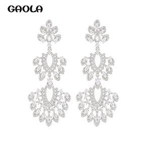 GAOLA Drei-Schicht-Wasser-Tropfen-Ohrring-Sense-Ohrringe Long Long Nische Design Sense von Precious Shiny GLE9569