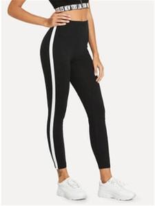 Pants Solid Color Printed Slim Female Leggings Pants Womens 2020 Luxury Designer Clothes Summer Womens Yoga