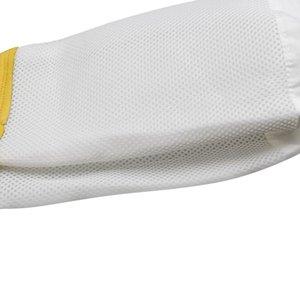 Пчеловодство перчатки Защитные рукава Вентилируемые Professional овчины и сетки Bee для Пчеловодство пчеловодство перчатки