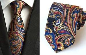 toptan düşük fiyat yüksek kalite 5pcs / sürü Polyester iplik erkek kravatı (146x8cm) (7.5) Vxx