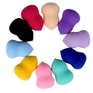 ماكياج الإسفنج نفخة 60 * 40 ملليمتر غير اللاتكس يمكن تغيير أكبر مؤسسة لينة الإسفنج كالاباش الشكل التجميل النفخة 8 ألوان السلس مسحوق نفخة