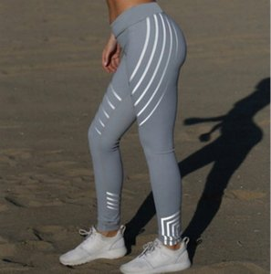 Woman Luxury Clothes Elastic Yoga Quick-drying Leggings Printed Sports Casual Tight Yoga Pants High End Preppy Style Fashion Trend