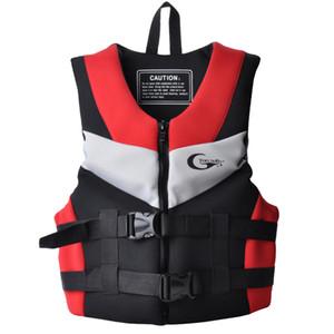 Водные виды спорта плавающая куртка жилет безопасности взрослые дети купальники плавучесть помощь для каяк каноэ лодка плавание рыбалка CE утвержден
