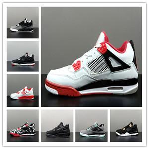 воздуха J4 не мужская баскетбольная обувь ретро женщины J4 не.0 всячески препятствовать 4S черный белый кот деним лазерная резинка авиаперелет ретро J4 не кроссовки мужская спортивная обувь горячая