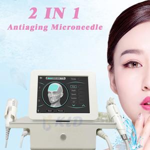 Microneedle RF Radiofrequenz-Maschine Microneedle RF und Fractional RF Schönheit Maschine für Face-Lift mit CE