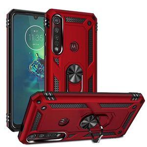 Antiurto anello magnetico della cassa del telefono per Motorola Moto G veloce Potenza G Stylus G8 Giocare Plus per Motorola Moto E7 G7 E6 Gioca Power Plus