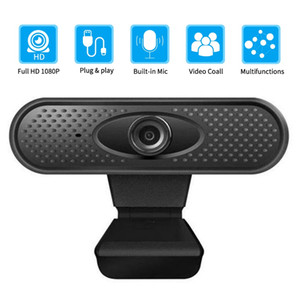 Встроенный USB HD 1080P ПК веб-камера микрофон портативный компьютер ПК веб-камера камеры Android TV Веб-камера подходит Skype OS windons