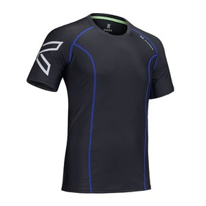 2019 HAMEK Men Compression Fitness Strumpfhosen Laufshirt Gym Bluse Yoga Sport Anzüge Fußball Trikots Tank Man T-Shirts Schnell Trocknend