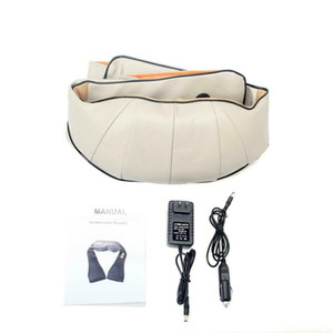 Back and Shoulder Shiatsu Massager Electric Neck Massage Pillow with Heating US