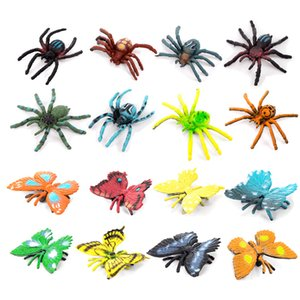 Cross Border for Model Spider Butterfly Model Toy Environmentally Friendly Tarantula Emperor Butterfly Trick Educational Toy