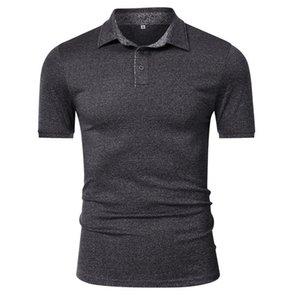 PLUS PLO MENS Designer Polo Tees бизнес стиль твердые сухие быстрые модные мужские рубашки повседневный офисный размер тонкий dtvgq