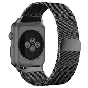 밀라노 루프에 대한 사과 시계 밴드 4 44mm 40mm의 코레아 aplle 시계 42mm의 38mm 스테인레스 스틸 손목 스트랩 팔찌 iwatch 4/3/2/1