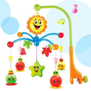 Baby Bed Bell Newborn Light Music Bell Rotating Beds Remote 0-1 Year Old Bedside Pendant Early Childhood Education Toys 26hy J R