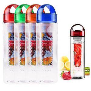 700ML زجاجة جديدة الفاكهة المساعد على التحلل المياه تسريب BPA الحرة السموم يشرب عصير زجاجة