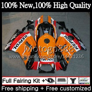 Body Repsol orange per HONDA CBR 600F2 FS CBR600 F2 91 92 93 94 46PG2 CBR600FS CBR 600 F2 CBR600F2 1991 1992 1993 1994 Carena