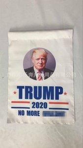 2020 Trump Bandiere tromba parole inglesi a due piani ombreggiatura Campagna Giardino bandiera 30 * 45cm Blu Bianco vendita calda 5rbE1