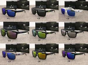 TR90 роскошные рамы дизайнерские солнцезащитные очкиOakleyсолнцезащитные очки 9102 мужские поляризованным УФ защита красочные езда очки Спорт на открытом воздухе