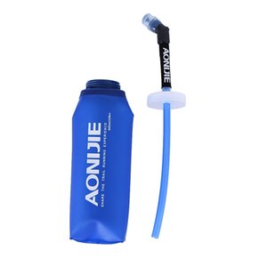 AONIJIE Sport Collapsible Lightweight Compact BPA Free Soft Running Water Bottle Soft Hiking Flask Hydration Bottle 350 600ml Water Bottles