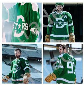 Costumbre 2020 Winter Classic Dallas Stars Jersey Tyler Seguin Jamie Benn Miro Heiskanen Alexander Radulov obispo Julius Pavelski Hockey Jersey