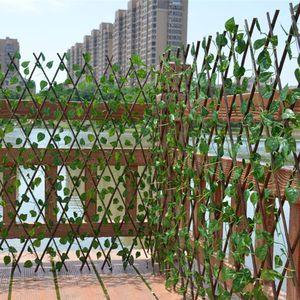 Artificiale della pianta di giardino recinto UV protettivo dello schermo di segretezza esterna coperta Usa recinto del giardino mura del cortile Home Decor Spazi verdi