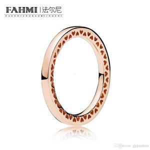 FAHMI 100% 925 Sterling Silver 1:1 Original Authentic Charm 186237 Temperament Fashion Glamour Retro Ring Wedding Women Jewelry