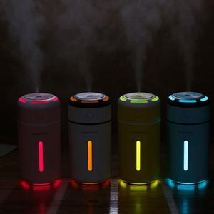 Pop2019 Qiao Le Sept Lumières Colorées Usb Mini- Véhicule Ménage Veilleuse Étudiant Dortoir Humidificateur De Bureau