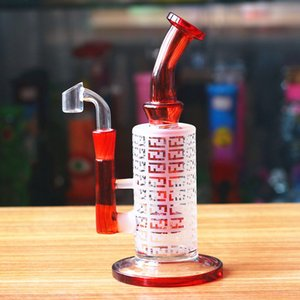 American color glass bong Tonardo heady inline perc glass water pipes smoking bong dab rig wax glass pipes oil rigs colorful hookahs