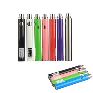 UGO-V II Preheating Batteries Pen electronic cigarette Vape Battery 510 Thread 650mah 900mAh with Micro USB cable Fit Vapor Cartridges