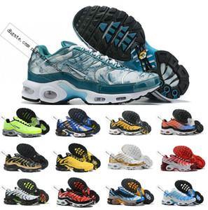 Оптовые продажи обуви 2019 TN Новый дизайнер высшего качества AIR TN Мужчины дышащая сетка Chaussures Homme TN Requin беговые кроссовки повседневные